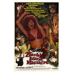 Zombie Island Massacre Movie Poster (27 x 40)