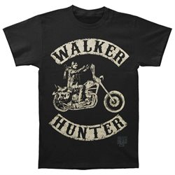 Walking Dead Men's Walk Hunter T-shirt Small Black
