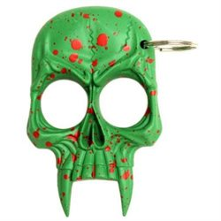 ZOMBIE Killer Skull Self Defense Key Chain
