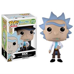 Funko POP! Animation: Rick and Morty Vinyl Figure - Rick