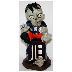 "Detroit Tigers MLB 8"" Thematic Zombie Figurine"
