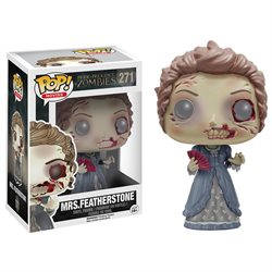 Funko POP! Movies Pride & Prejudice & Zombies Action Fig - Mrs. Featherstone