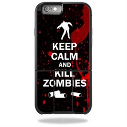 MightySkins Protective Vinyl Skin Decal for OtterBox Universe iPhone 6 Plus / 6S Plus Case wrap cover sticker skins Kill Zombies
