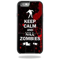 MightySkins Protective Vinyl Skin Decal for OtterBox Universe iPhone 6/6s Case wrap cover sticker skins Kill Zombies