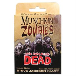 The Walking Dead Munchkin Card Game