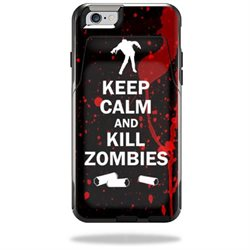 MightySkins Protective Vinyl Skin Decal for OtterBox CommuteriPhone 6/6S Wallet Case wrap cover sticker skins Kill Zombies