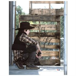 Chandler Riggs The Walking Dead Authentic Signed 11X14 Photo PSA/DNA #Z89190