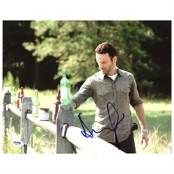 Andrew Lincoln The Walking Dead Authentic Signed 11X14 Photo PSA/DNA #Z89152