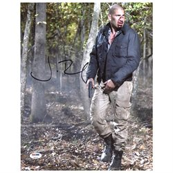 Jon Bernthal The Walking Dead Authentic Signed 11X14 Photo PSA/DNA #Z90225