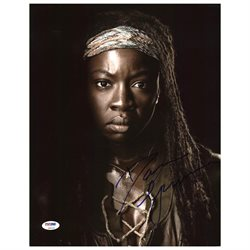 Danai Gurira The Walking Dead Authentic Signed 11X14 Photo PSA/DNA #Z90219