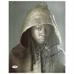 Danai Gurira The Walking Dead Authentic Signed 11X14 Photo PSA/DNA #Z90218