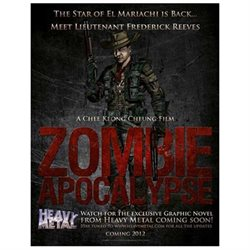 Zombie Apocalypse Movie Poster (11 x 17)