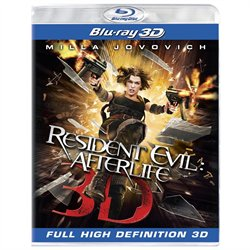 Resident Evil-Afterlife (3D Blu-ray)