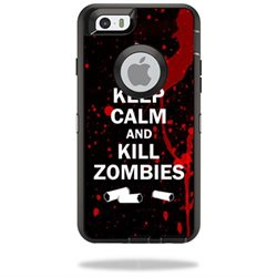 MightySkins Protective Vinyl Skin Decal Cover for OtterBox Defender iPhone 6/6S Case Cover Sticker Skins Kill Zombies