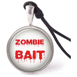 Vietsbay's Zombie Necklace Pendants Pewter Silver