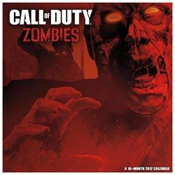 Call of Duty: Zombies Wall Calendar by Trends International
