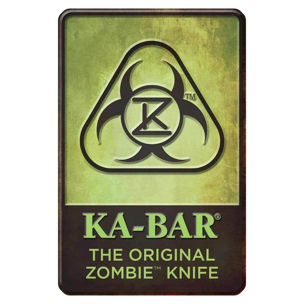 Ka-Bar Zombie Knife Sign 5700SIGN