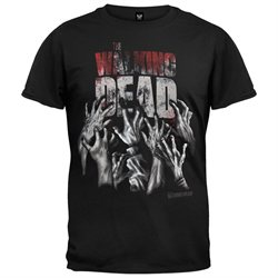 Walking Dead - Hands Reaching T-Shirt - Medium