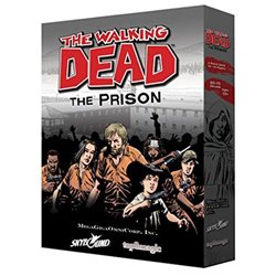 The Walking Dead: The Prison Board Game MGOTWDP014 Megagigaomnicorp