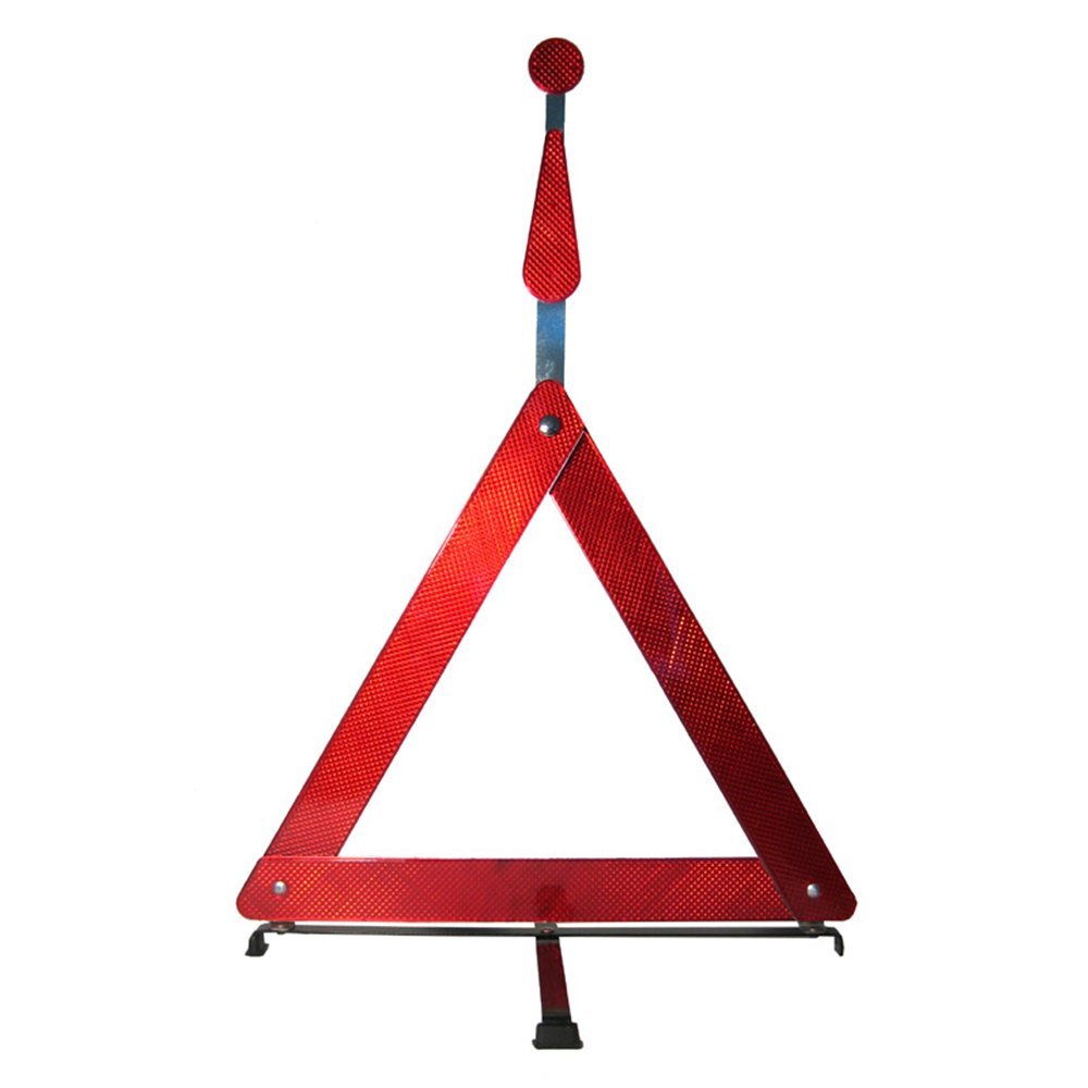 New Emergency Road Safety Triangle Car Truck Warning Sign Reflective Breakdown G