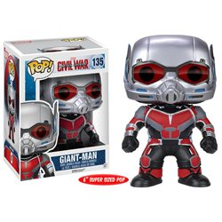Funko Pop! Marvel: Civil War Captain America 3 Vinyl Action Figu - Giant Man