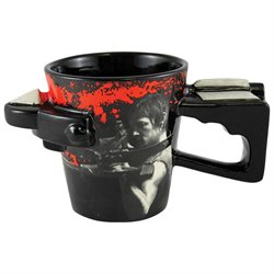 Walking Dead TV Show Mug - Daryl Dixon Zombie Undead Crossbow Cup