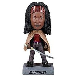 AMC's Walking Dead Michonne Bobblehead Novelty Collectible Toy Figure