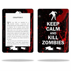 MightySkins Protective Vinyl Skin Decal for Amazon Kindle Voyage cover wrap sticker skins Kill Zombies