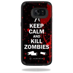 MightySkins Protective Vinyl Skin Decal for Mophie Juice Pack Samsung Galaxy S7 Edge Case wrap cover sticker skins Kill Zombies