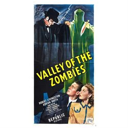 Valley of the Zombies Poster Movie 11 x 17 Inches - 28cm x 44cm Robert Livingston Adrian Booth Ian Keith