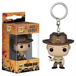 Pop Keychain- Walking Dead Rick Grimes