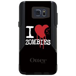 CUSTOM OtterBox Commuter Series Case (77-52062) for Samsung Galaxy Note 5 - I Heart Zombies