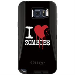 CUSTOM OtterBox Defender Series Case (77-52045) for Samsung Galaxy Note 5 - I Heart Zombies