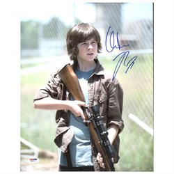 Chandler Riggs The Walking Dead Authentic Signed 11X14 Photo PSA/DNA #W80711