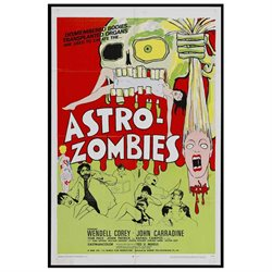 The Astro Zombies Poster Movie B 27 x 40 In - 69cm x 102cm