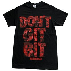 The Walking Dead Don't Git Bit Men's TShirt