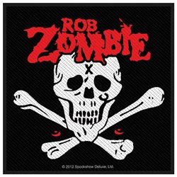Rob Zombie Men's Dead Return Woven Patch Black