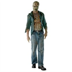 Walking Dead Deluxe Adult Decomposed Zombie Costume Rubies 880355