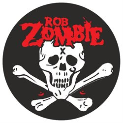 Rob Zombie Dead Return Back Patch Black