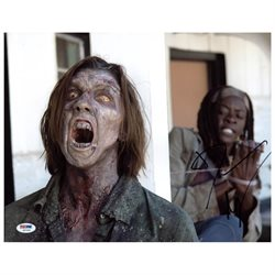 Danai Gurira The Walking Dead Signed Authentic 11X14 Photo PSA/DNA #Z57249