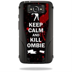 Mightyskins Protective Vinyl Skin Decal Cover for Otterbox Defender Motorola Droid Turbo Case cover wrap sticker skins Kill Zombies