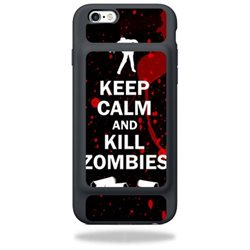 MightySkins Protective Vinyl Skin Decal for Apple iPhone 6s Smart Battery Case wrap cover sticker skins Kill Zombies