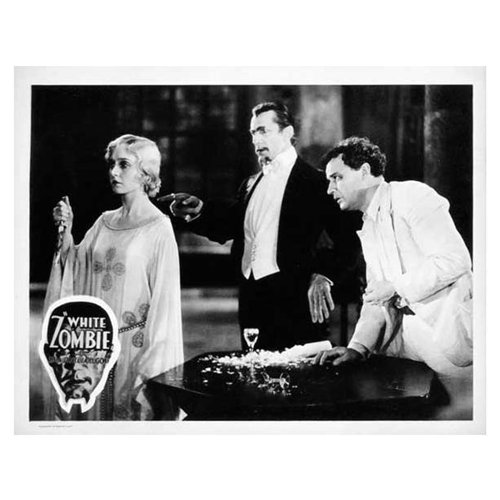 White Zombie Poster Movie F 11 x 14 In - 28cm x 36cm Bela Lugosi Madge Bellamy Joseph Cawthorn Robert Frazer