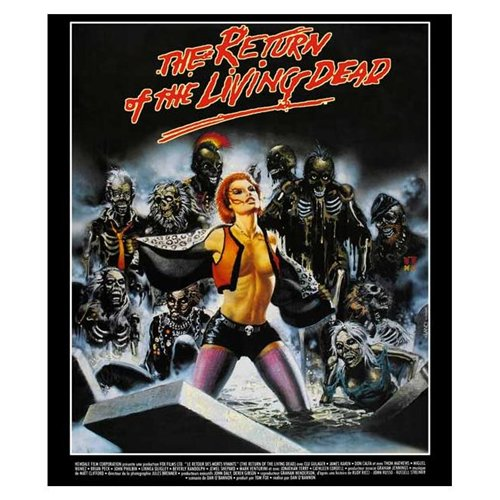The Return of the Living Dead Poster Movie French 11 x 17 Inches - 28cm x 44cm Clu Gulager James Karen Linnea Quigley Don Calfa Jewel Shepard Beverly Randolph Miguel Nunez