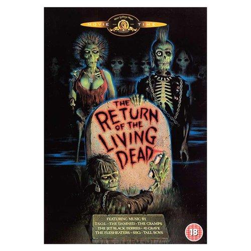 The Return of the Living Dead Poster Movie Dutch 11 x 17 In - 28cm x 44cm Clu Gulager James Karen Linnea Quigley Don Calfa Jewel Shepard Beverly Randolph
