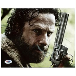 Andrew Lincoln The Walking Dead Signed Authentic 8X10 Photo PSA/DNA #Z56577