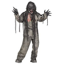 Burning Dead Zombie Kids Costume