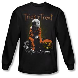 Trick 'R Treat Horror Zombie Comedy Movie Sitting Sam Adult Long Sleeve T-Shirt