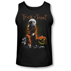 Trick 'R Treat Horror Zombie Comedy Movie Sitting Sam Adult Tank Top Shirt
