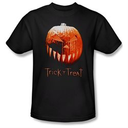 Trick 'R Treat Horror Zombie Comedy Movie Pumpkin Adult T-Shirt Tee